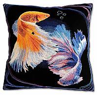 """Набор для вышивания крестом """"Бетта рыбы"""", фото 1"""