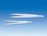 Пинцет пластиковый с заостренными концами, эластичный, L-115 мм, белый (PMP) (VITLAB)