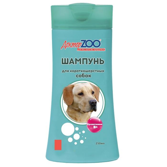 Шампунь Доктор ZOO для короткошерстных собак