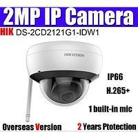 Hikvision DS-2CD2121G1-IDW1 (2,8 мм) IP WI-FI видеокамера 2 МП, купольная, фото 1