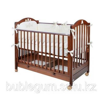 MIBB Кровать детская TENDER NOCE ANTICO темный орех
