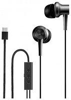 Наушники XIAOMI Mi in-earphone Noise Reduction Type-C Black