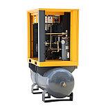 Винтовой компрессор APB-10A-500, 1,1куб.м, 7,5кВт, AirPIK, фото 2