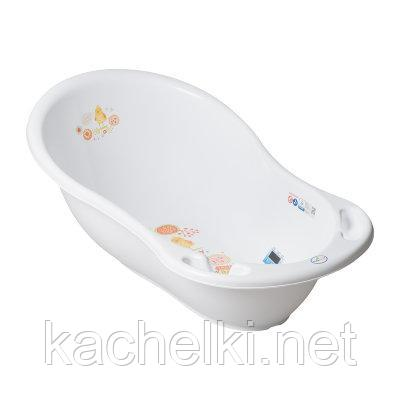ТЕГА Ванночка 86см FOLK (ФОЛЬКЛОР) белый
