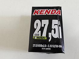 Велосипедная камера Kenda 27,5x2,35. Presta. F/V