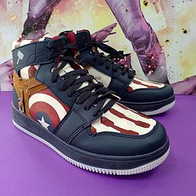 Кроссовки Капитан Америка