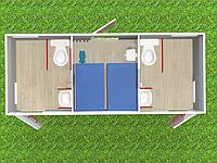 Туалетный модуль автономный T-3-А
