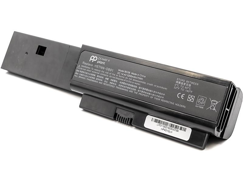 Аккумулятор PowerPlant для ноутбуков HP Probook 4310s (HSTNN-DB91, HP4310LH) 14.4V 5200mAh