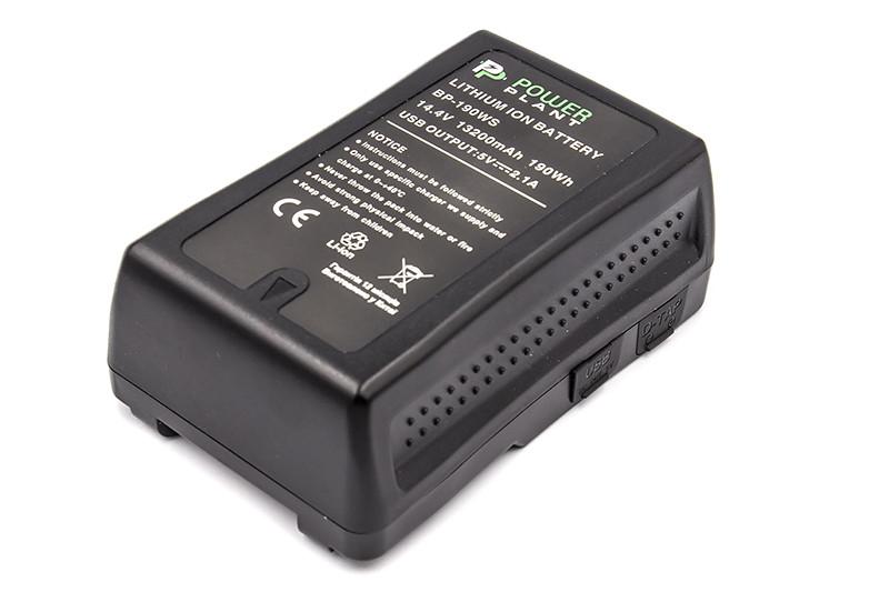 Аккумулятор Gold mount PowerPlant Sony BP-190W 13200mAh
