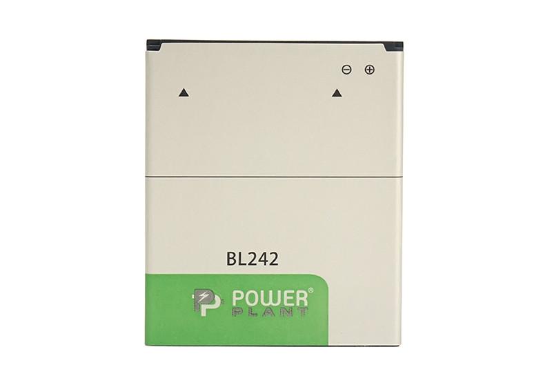 Аккумулятор PowerPlant Lenovo A6000 (BL242) 2300mAh