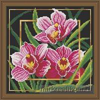 """Набор для вышивания крестом """"Цветок. Орхидея"""""""