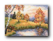 """Набор для вышивания крестом """"Осенний лес"""""""