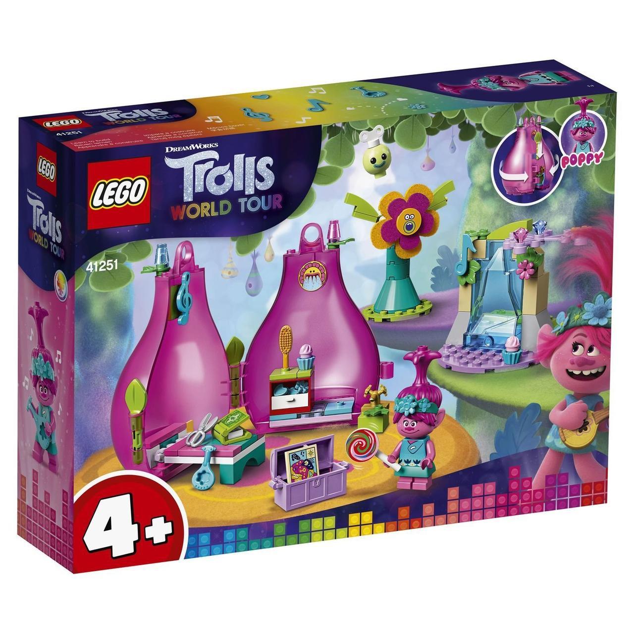 LEGO Trolls Домик-бутон Розочки