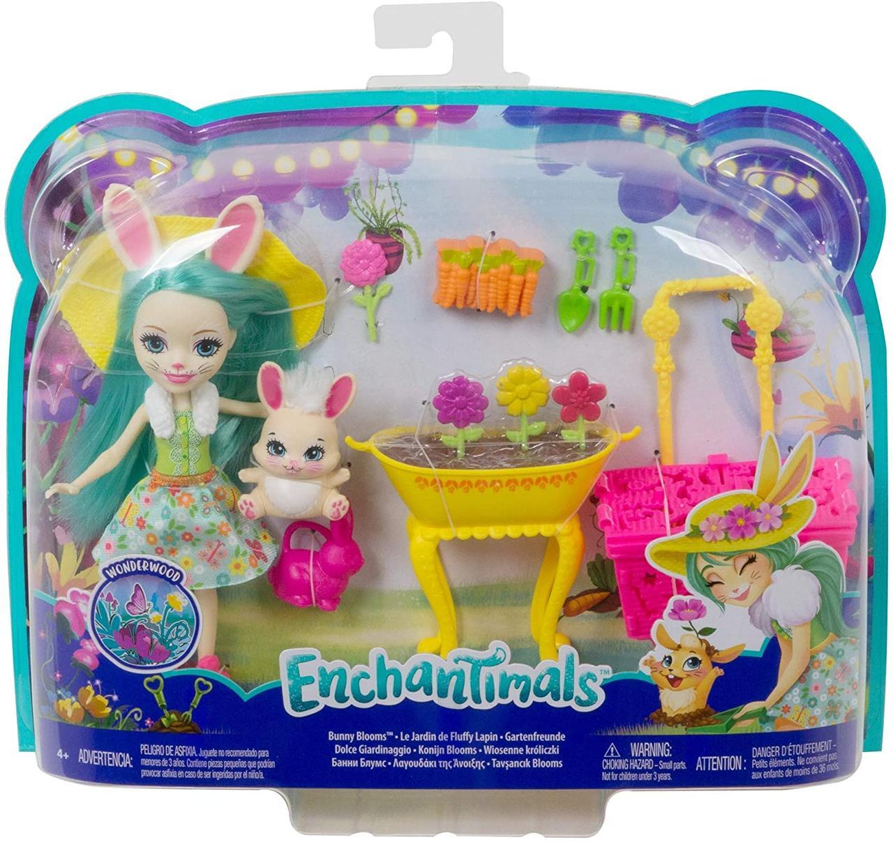 Enchantimals Игровой Набор Энчантималс GJX33 Волшебный сад Кролик Флаффи