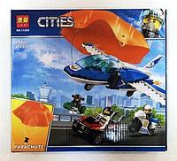 Конструктор Lari 11208 Cities Воздушная полиция: Арест парашютиста