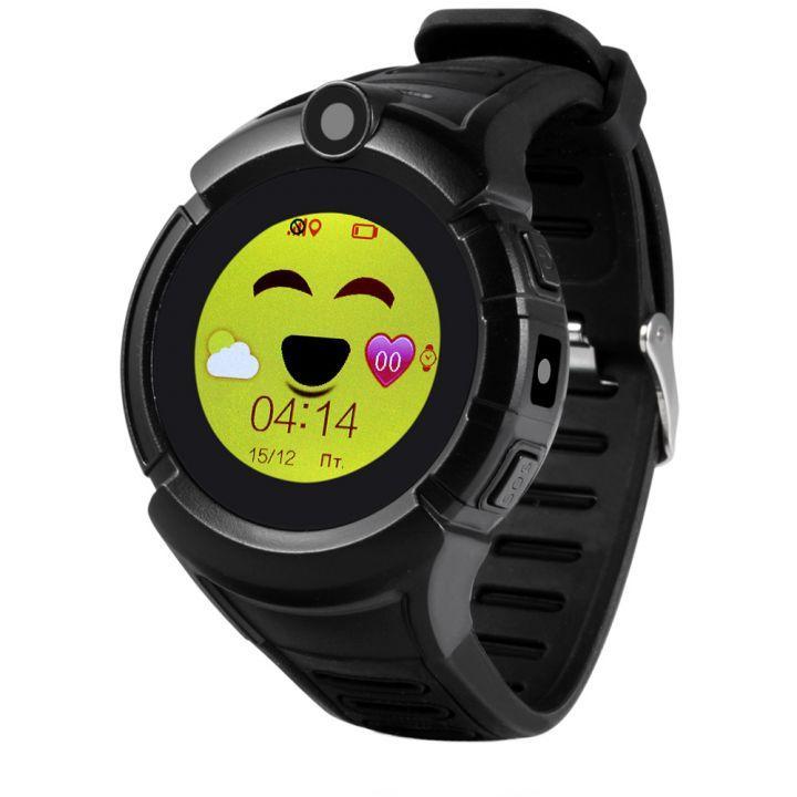 SMART часы с GPS трекером Q360 black