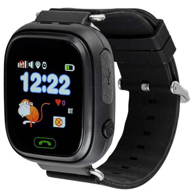 SMART часы с GPS трекером Q90 black