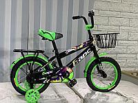 Детский велосипед Барс 12-074 с дисковым тормозом