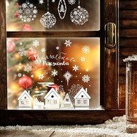 Наклейки витражные 'Волшебного Рождества'