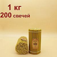 """Свечи """"Медовые""""  горят 60 мин от 19 тенге за шт. Длина свечи 185мм"""