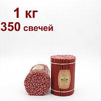 Восковые свечи КРАСНЫЕ  горят 30 мин. от 11  тенге. Длина свечи 160мм, фото 1