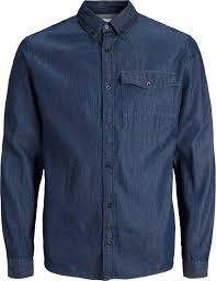 JACK&JONES Мужская рубашка  5713747950969