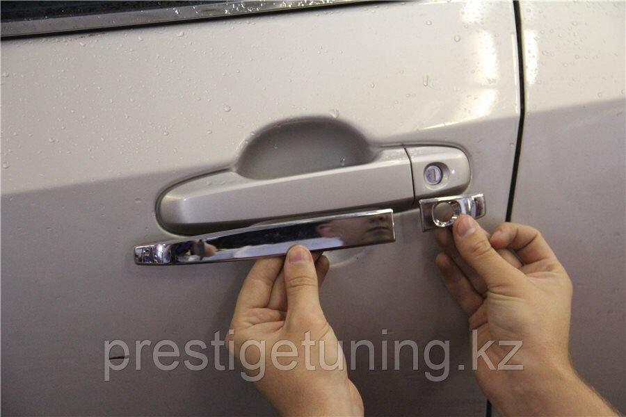 Хром на ручки Camry V50/55 2012-17 (Китай)