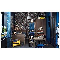 Шкаф платяной, серо-коричневый, 80x50x171 см