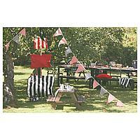 Детский стол д/пикника, серо-коричневая морилка