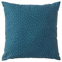 Подушка, обезьянка, синий, 50x50 см