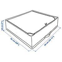 Сумка для хранения, белый/серый, 55x51x18 см