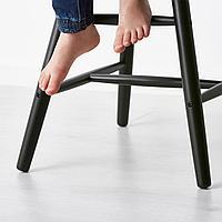 Детский стул, черный