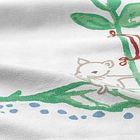 Полотенце, плывущий мышонок, 30x30 см