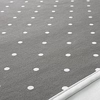 Пеленальная подстилка, точечный, серый, 90x70 см