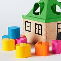 Коробка д/головоломки, разноцветный