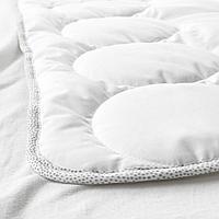 Одеяло в детскую кроватку, белый, серый, 110x125 см