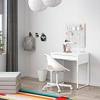 Письменный стол, белый, 73x50 см