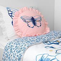 Подушка, орнамент «бабочка»