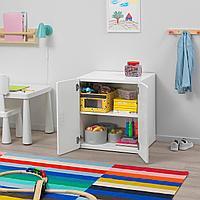 Шкаф, белый, белый, 60x50x64 см