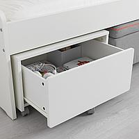 Ящик д/хранения на колесиках, 62x62x35 см