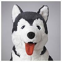 Мягкая игрушка, собака хаски, сибирский хаски, 57 см