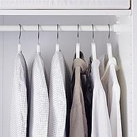 Чехол для одежды, 3 штуки, белый/серый
