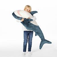 Мягкая игрушка, акула, 100 см