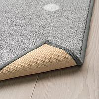 Ковер, точечный, серый, 133x160 см
