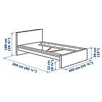 Каркас кровати, белый, Лурой, 90x200 см