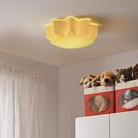 Потолочный светильник, желтый солнышко