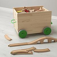Контейнер д/игрушек, с колесиками