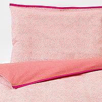 Пододеяльник, наволочка д/кроватки, красный, 110x125/35x55 см
