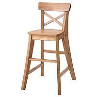 Детский стул, морилка,антик