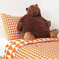 Мягкая игрушка, бурый медведь